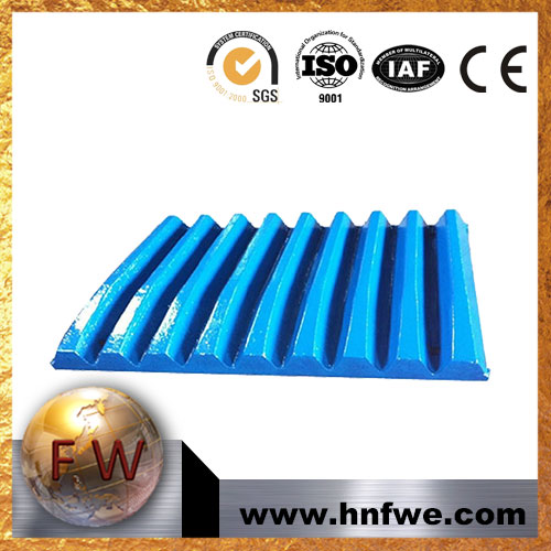 BEST QUALITY MANGANESE STEEL PLATE CASTING JAW CRUS